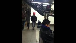 Subway saxophone