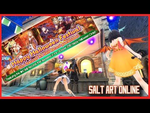 Salt Art Online : Happy Halloween Festival