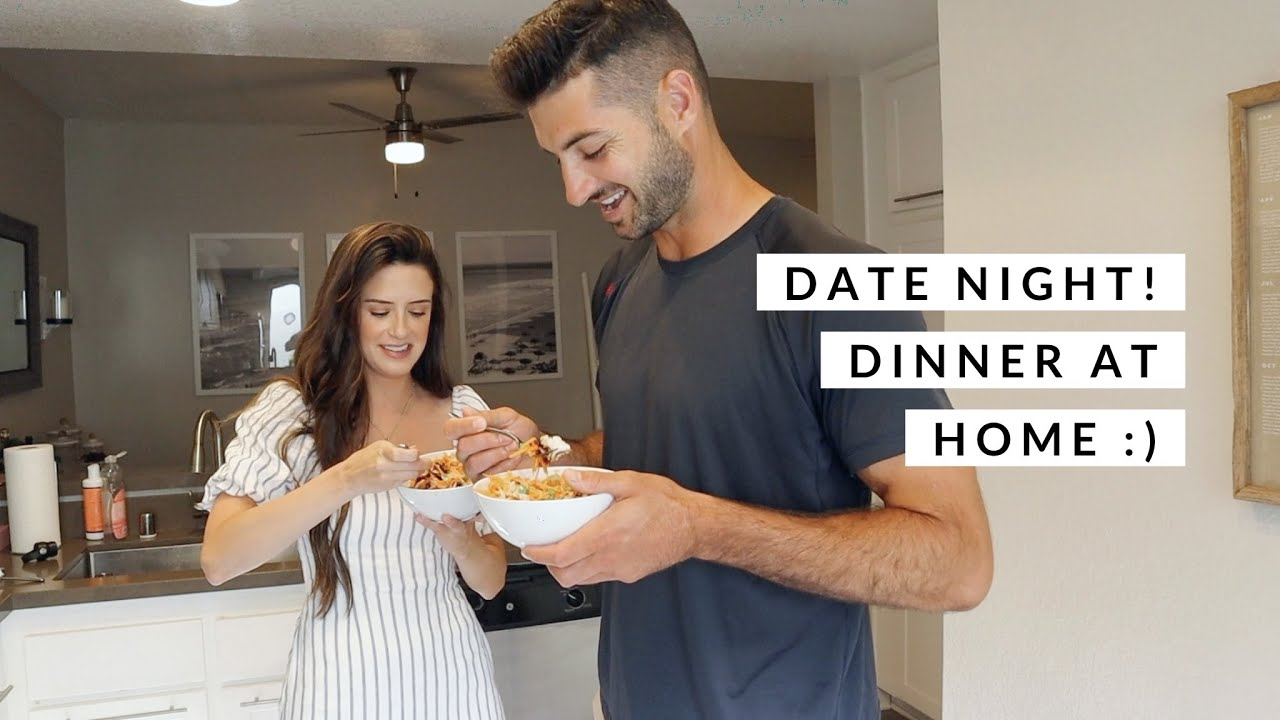 Date Night-Cooking Dinner Together!