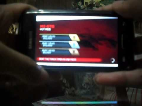 Samsung Galaxy W I8150 Playing Need for Speed Most Wanted