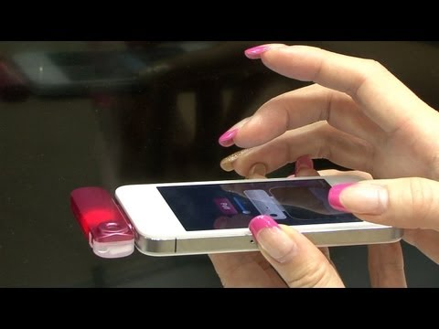 Send a scent with your message with the Scentee (ChatPerf) smartphone addon #DigInfo