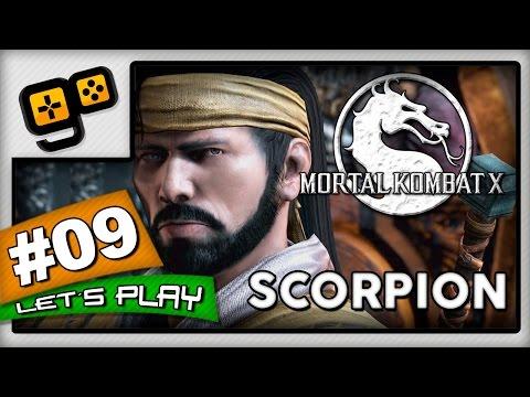 Let's Play:Mortal Kombat X - Parte 9 - Scorpion