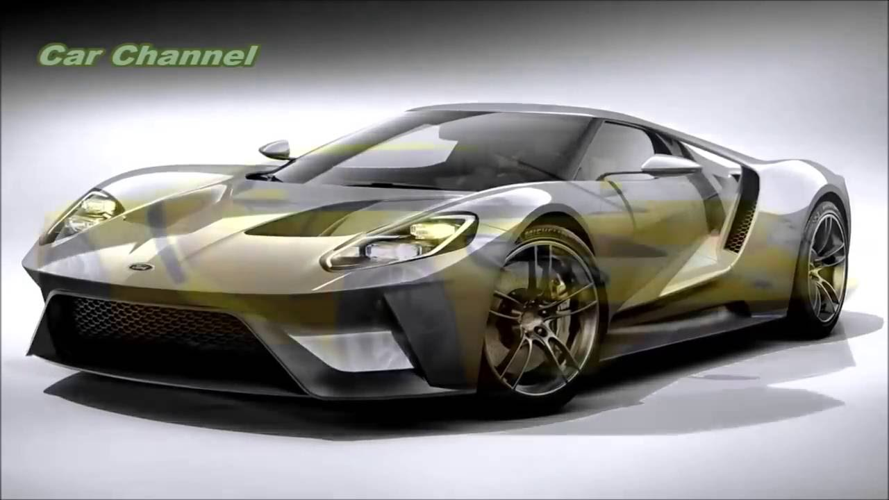 2017 Ford GT New Sports Car Detroit Auto Show & 2017 Ford GT New Sports Car Detroit Auto Show - YouTube markmcfarlin.com