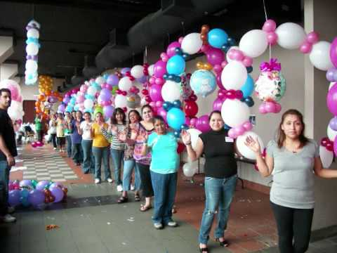 Cursos de decoraciones de fiestas youtube for Decoracion de salones para eventos
