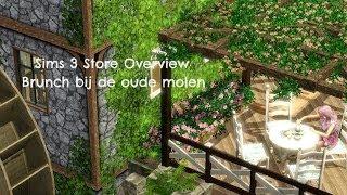 Sims 3 Store Overview: Brunch bij de oude molen