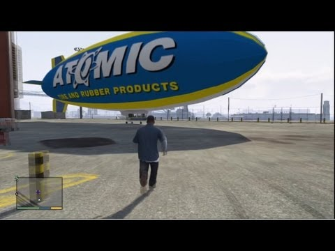★ GTA 5 - How To Get Atomic Blimp &...