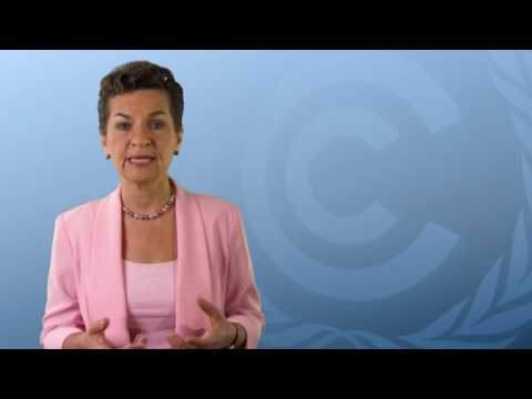 Christiana Figueres video message to the GEF