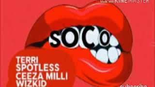 Star boy ft wiz kid and ceeza milli spotless- soco (audio)