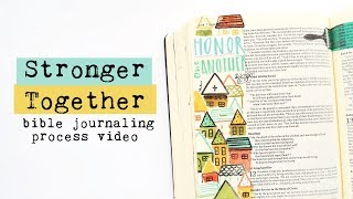 Bible Journaling Process | Stronger Together