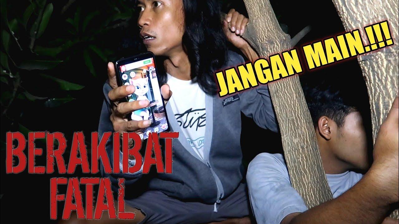Download SEREMM!!! MAIN TALKING ANGELA JAM 3 PAGI DI ATAS POHON BERB4HAYAA!!! || eror #10