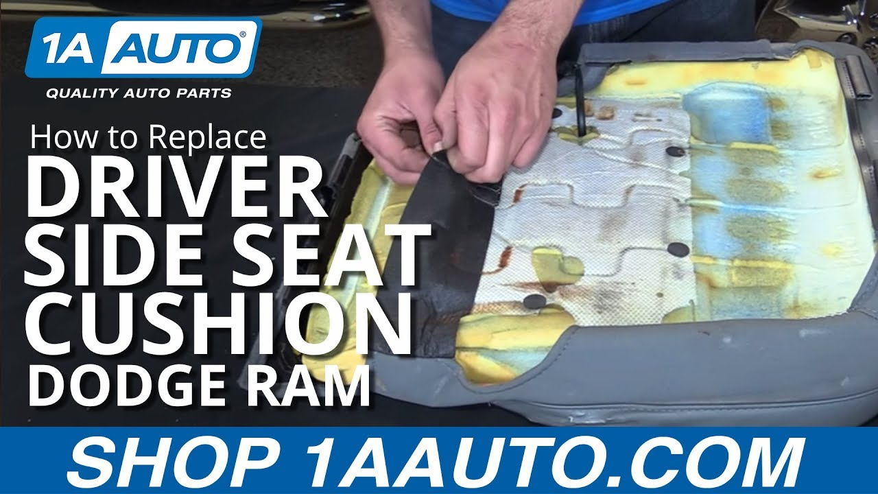 How To Install Replace Drivers Side Seat Cushion 2008 Dodge Ram BUY QUALITY AUTO PARTS AT 1AAUTOCOM