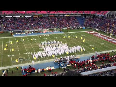 2013 Music City Bowl Halftime Georgia Tech Band