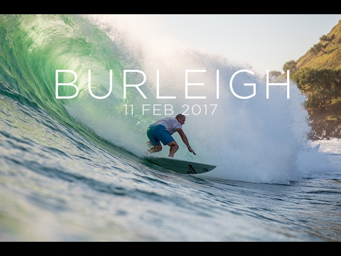 Surf Photography - Burleigh Heads 11 Feb 2017 - RAW CUT