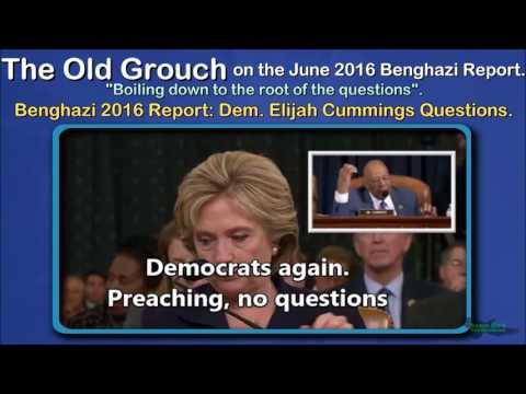 Benghazi 2016 Report  Dem  Elijah Cummings Questions. OGB 41 of 41.