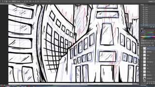Deathcore Artwork Speed Drawing