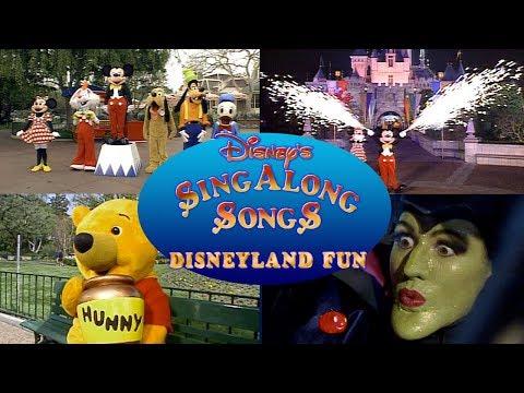 Disney Sing Along Songs Disneyland Fun in HD!