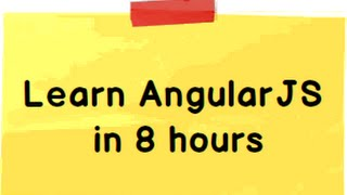 Learn Angularjs step by step ( Training video)