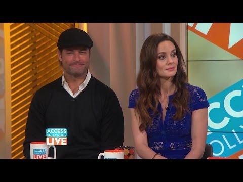 Sarah Wayne Callies & Josh Holloway  Access Hollywood