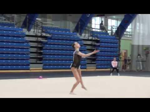 Adelina Beljaeva ball junior Eesti KV 2018