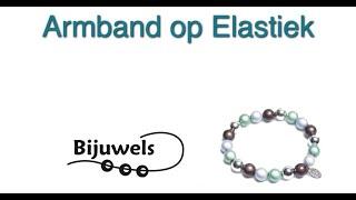 Workshop Armband op elastiek rijgen