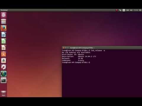 Как узнать версию ubuntu через терминал