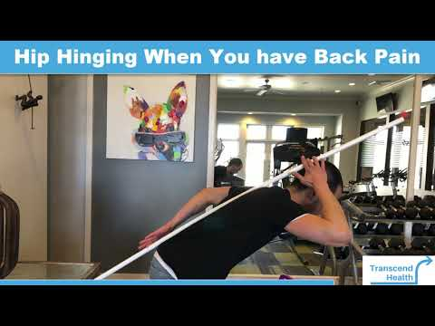 Hip Hinging for Back Pain