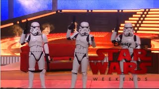 Stormtroopers Joke About Sorcerors Hat Removal & More At Star Wars Weekends 2015