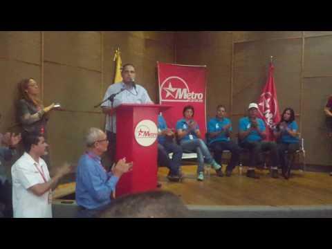 Juramentacion Del Sindicato Revolucionario Y Chavista SITRAMECA C. A METRO DE CARACAS