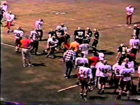 1995 Stilwell Indians at Broken Bow Savages Football