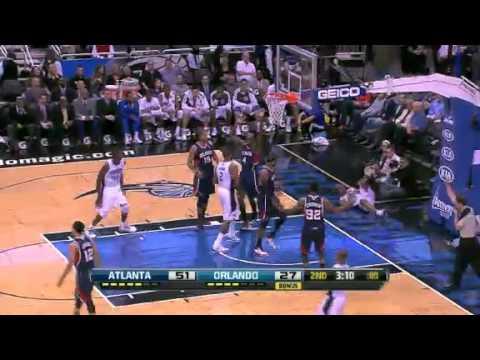 Atlanta Hawks vs Orlando Magic - February 13, 2013