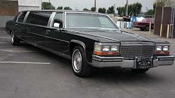 1987 Cadillac Brougham De Elegance Limo limousine For Sale
