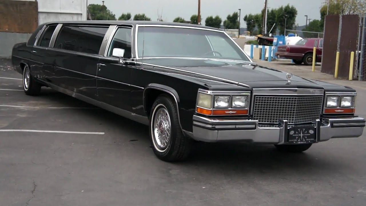 1987 Cadillac Brougham De Elegance Limo Limousine For Sale Youtube