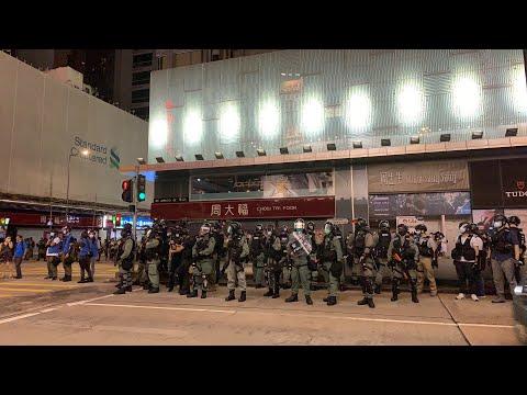 【香港直播20200527】旺角反對國安法2-大紀元黃瑞秋報道