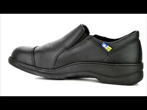 Women's Mellow Walk Steel Toe Slip On Work Shoe 4085 @ Steel-Toe-Shoes.com