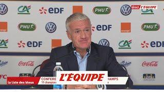 Deschamps «Thierry Henry se retrouve dans une situation difficile» - Foot - Bleus
