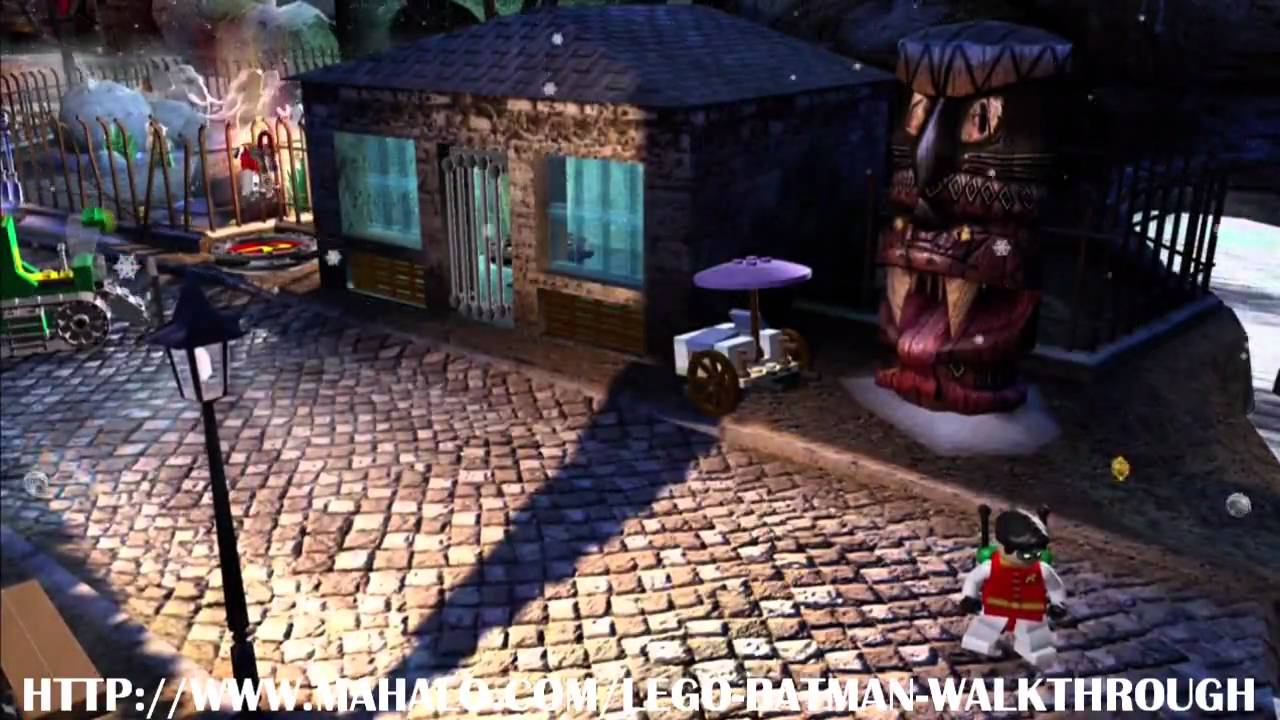 LEGO Batman Walkthrough - Mission 9: Zoo's Company - YouTube