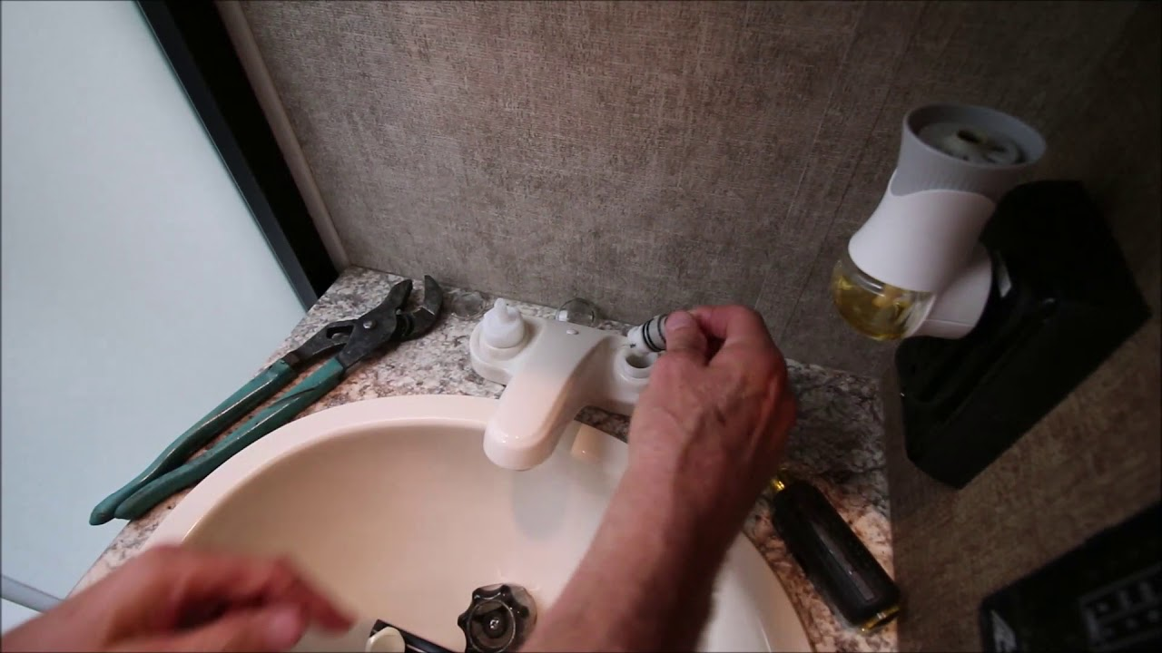 How to Fix a Noisy Squeaking Squealing Faucet - YouTube