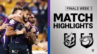 Storm v Eels | Finals Week 1 | Telstra Premiership | NRL