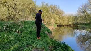 16 Тихая рыбалка Река рыбак природа