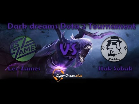 Dark dreams Dota 2 Tournament GRAND FINAL Stak Sobak vs Les-