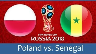 POLAND vs SENEGAL Live   Football Game HD Live Stream!GIVEAWAY X2 FIFA18 AT 150 PEOPLES ON LIVE