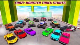 Mega ramp car stunt racing ||Android gameplay || kid's bhaijan