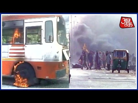 Vadodara Locals Protest Against Encroachment Drive