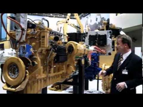BAUMA 2010 - Cat D7E - diesel-electric drivetrain