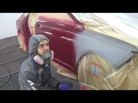 Окрас трёхслойки Lincoln Mkz. часть 1