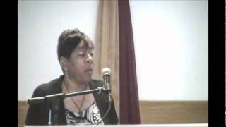 "Min. Bertha Randel ""The Right Touch"" 10-16-11"