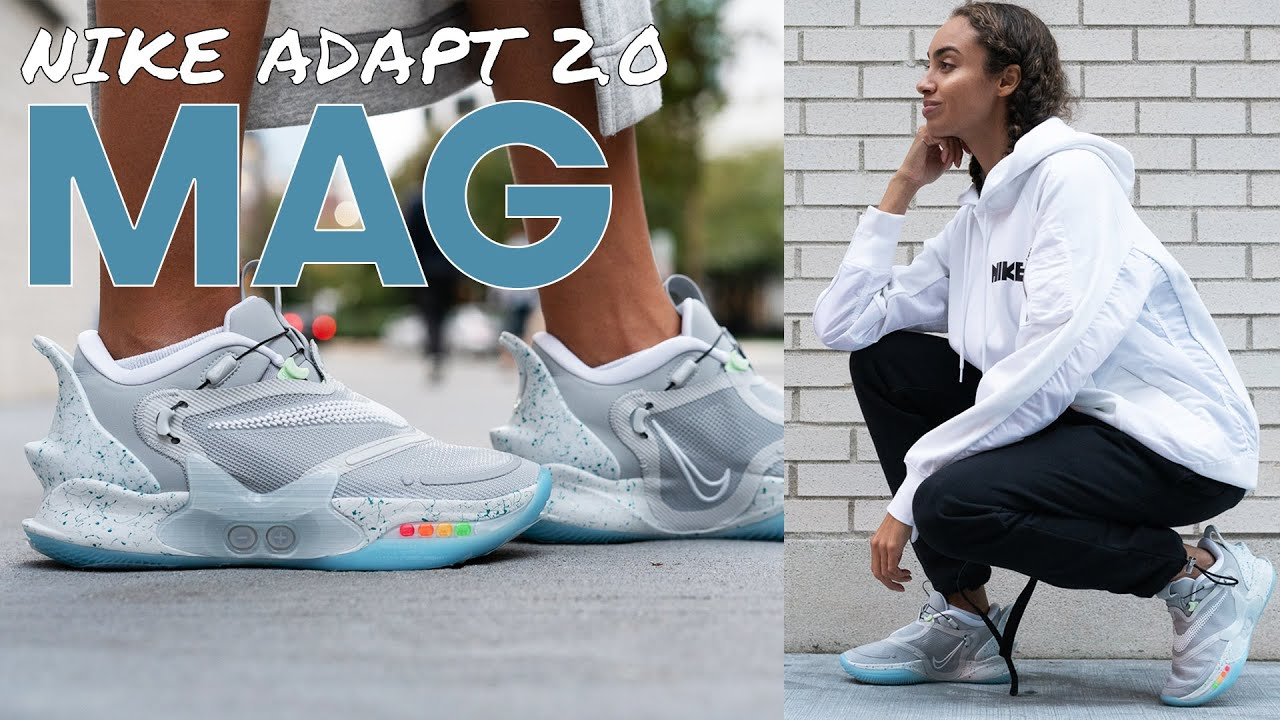 Nike Adapt Bb 2 0 Mag On Foot Review And Styling Haul These Held My Feet Hostage Best Mag Yet Youtube