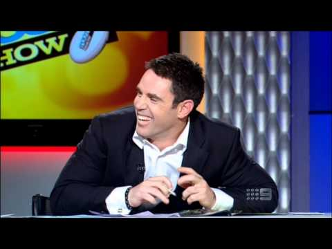 NRL Footy Show : Fatty lets one rip