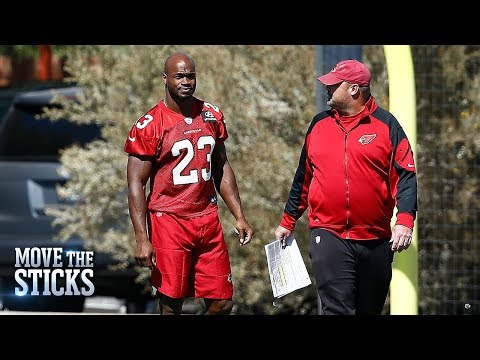 What to Expect from Adrian Peterson with Cardinals Sunday vs. Bucs | Move the Sticks | NFL Network