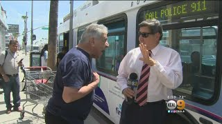 Violent Confrontation On Montebello City Bus